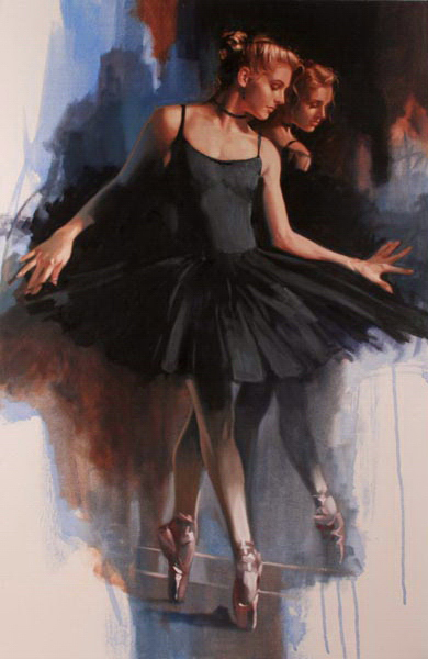Richard Johnson Duo Noir 36 x 24