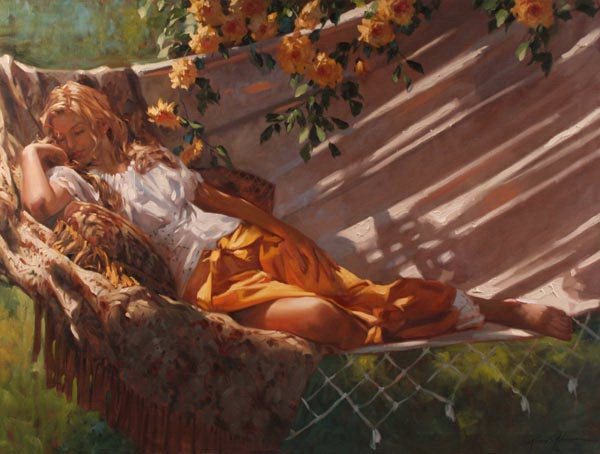 Richard Johnson Golden Dreams 30 x 40