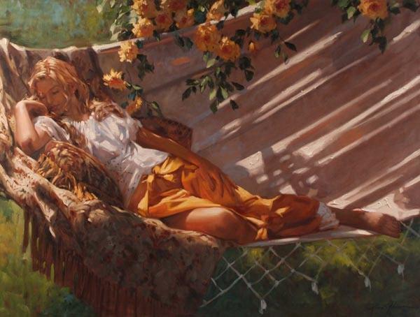 Richard Johnson Golden Dreams 30 x 40