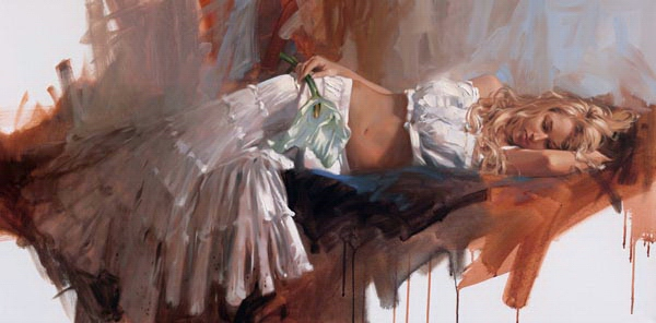 Richard Johnson Lily 24 x 48