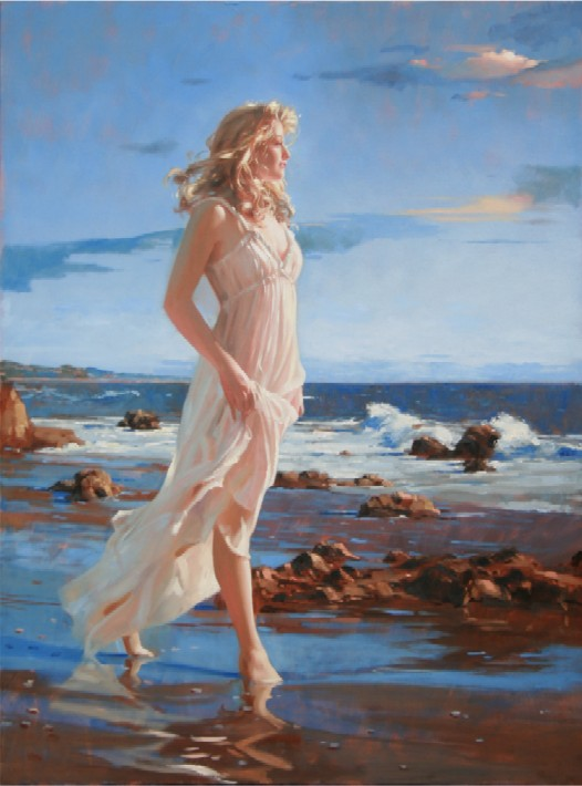 Richard Johnson Ocean Grace 40x30