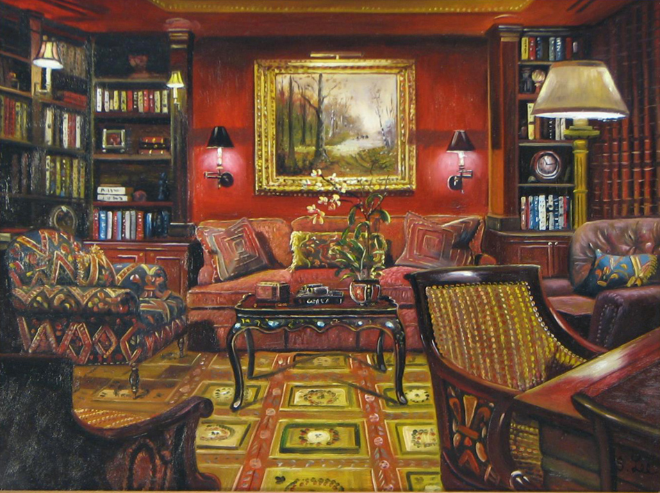 SH LEE ARTIST ART Majestic Parlor