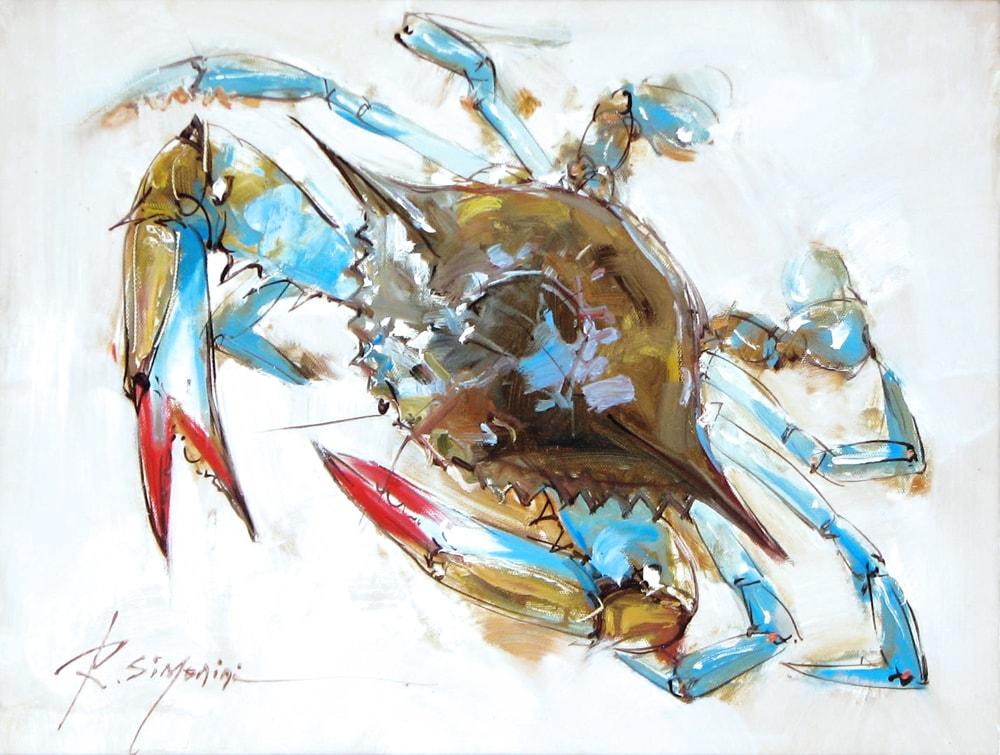SIMONINI ARTIST - Blue Crab by Simonini
