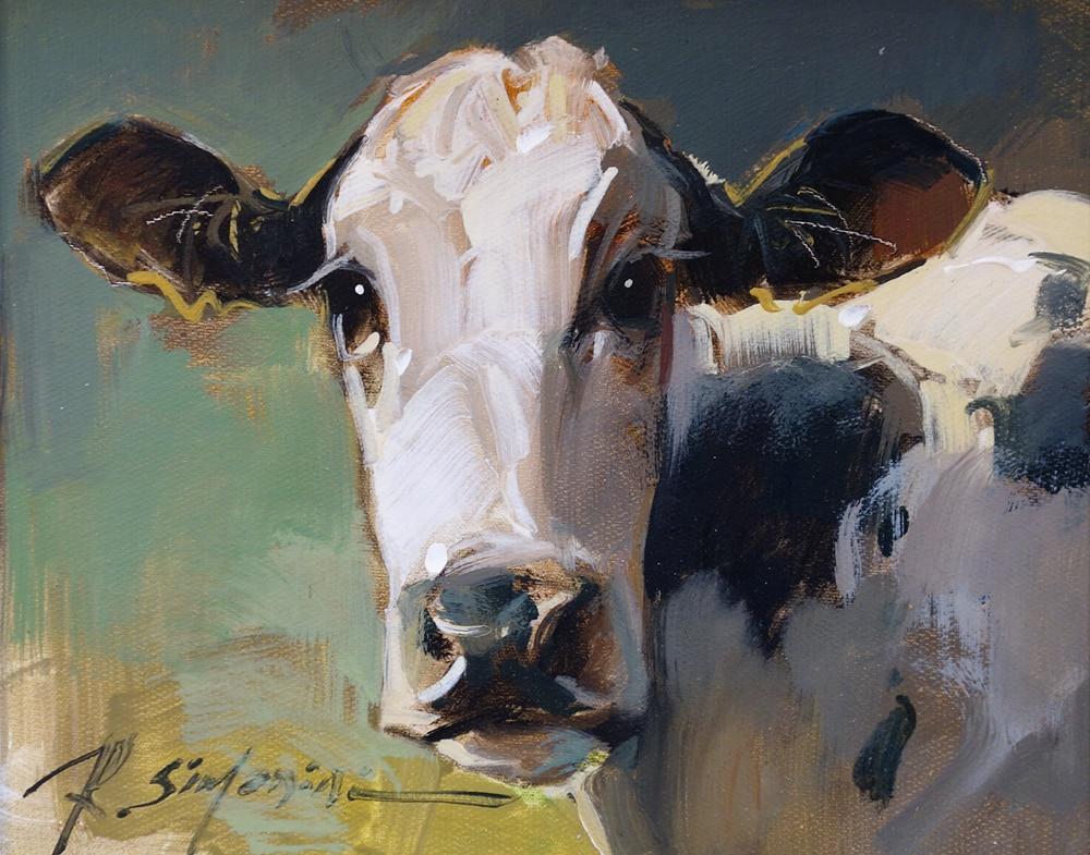 SIMONINI - Cow Black and White