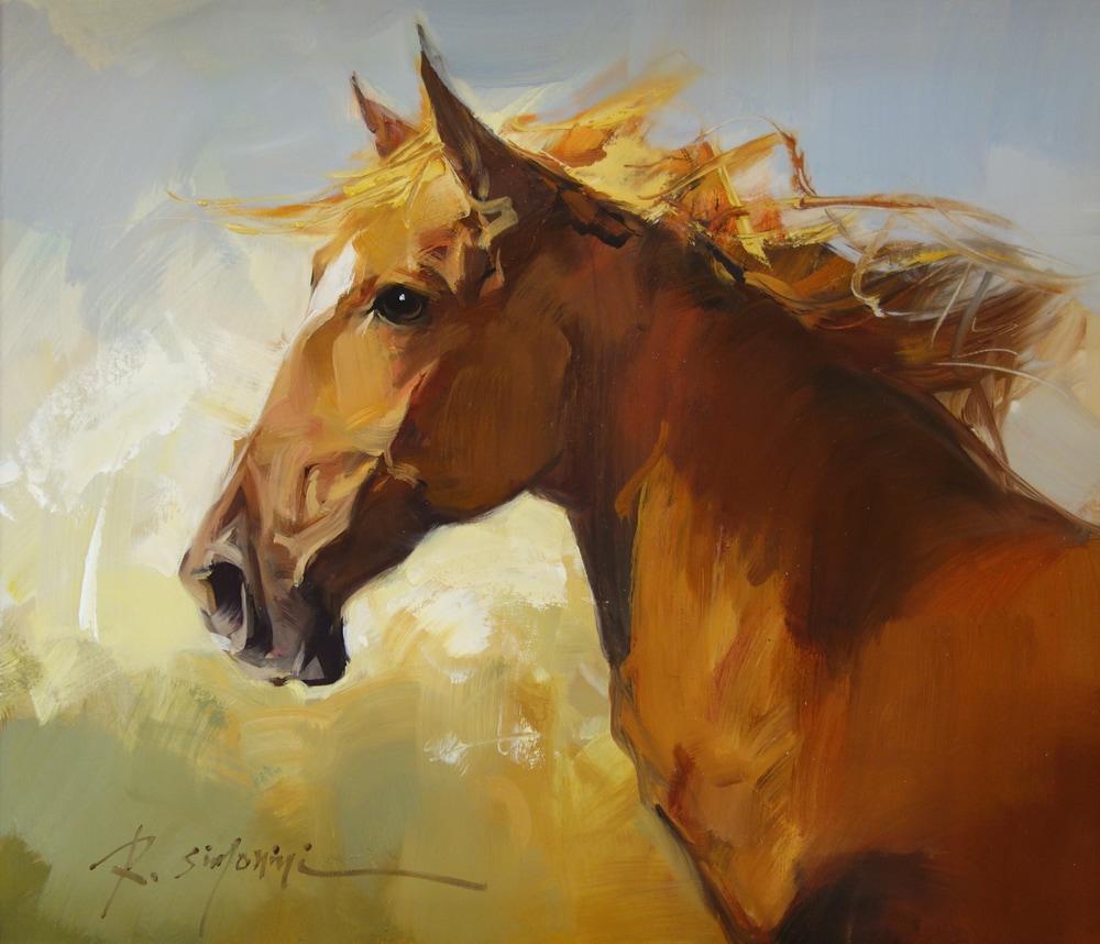 SIMONINI - Horse 20 x 24