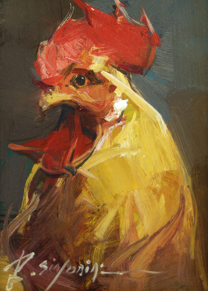 SIMONINI - Red Rooster 5 x 7