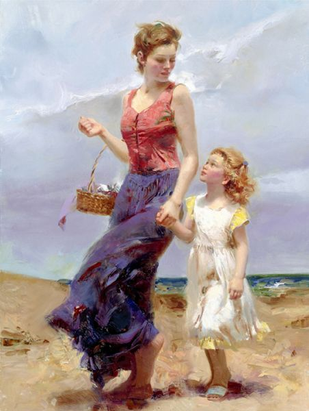 SOLD OUT Affection by Artist Pino Daeni Artwork