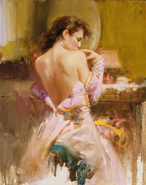 SOLD OUT Ballgown by Artist Pino Daeni Artwork