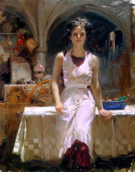 SOLD OUT Deborah Revisited by Artist Pino Daeni Artwork