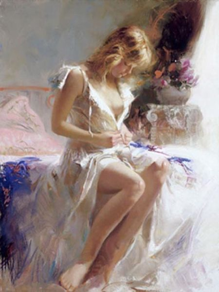 SOLD OUT - Early Morning by Artist Pino Daeni Artwork