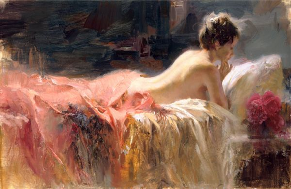 SOLD OUT Soft Light by Artist Pino Daeni Artwork