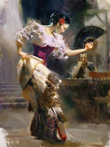 SOLD OUT The Dancer by Artist Pino Daeni Artwork