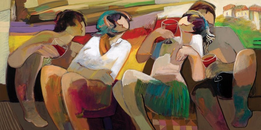 Serendipity by Hessam Abrishami 30 x 60