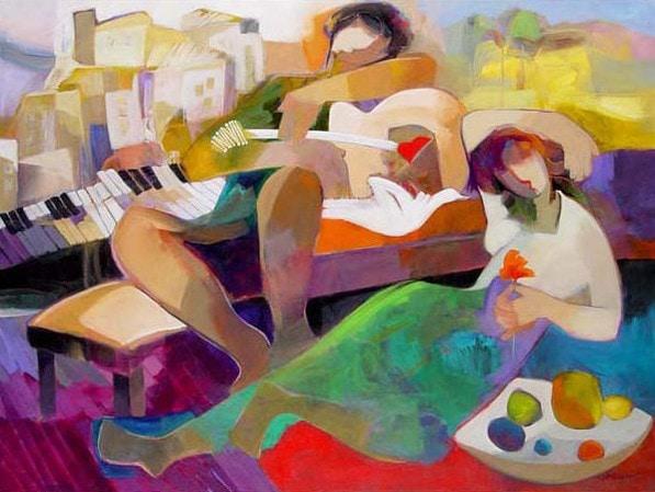 Spring Dream by Hessam Abrishami 30 x 40