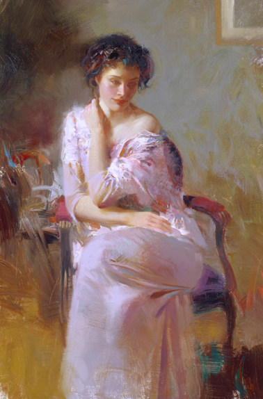 Sublime Beauty by Artist Pino Daeni Artwork