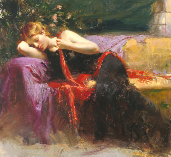 Sweet Dreams by Artist Pino Daeni Artwork