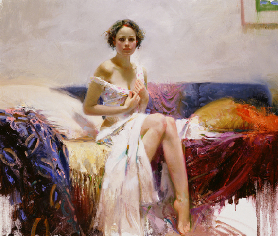 Sweet Sensation by Artist Pino Daeni Artwork