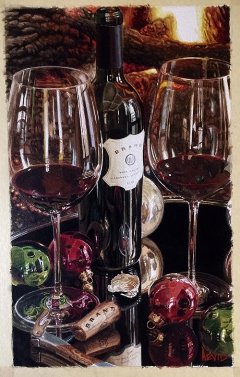 THOMAS ARVID ARTIST - Christmas Art - Delightful
