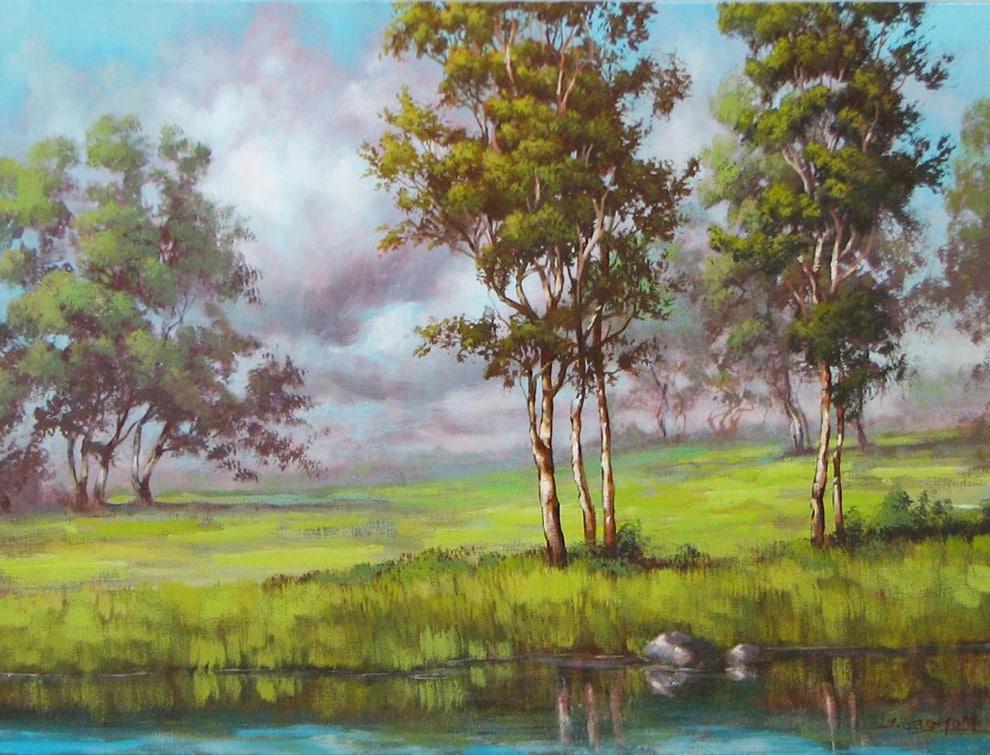 TIM GAGNON ARTIST - Greens in my dreams