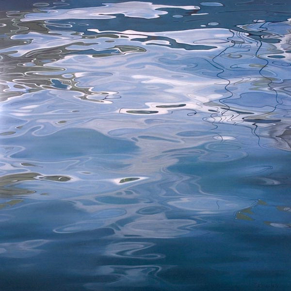 Tatyanna Klevenskiy Artwork - Ripple Effect 48 x 48