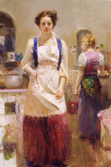 The Country Chef by Artist Pino Daeni Artwork