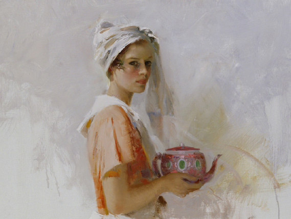 The Gift by Artist Pino Daeni Artwork