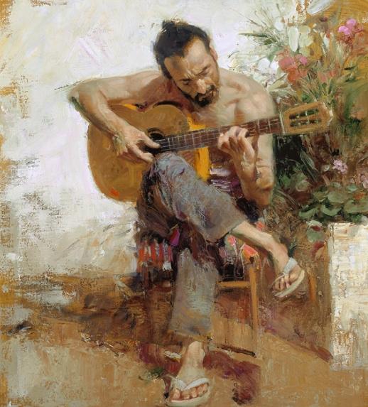The Gypsy by Artist Pino Daeni Artwork