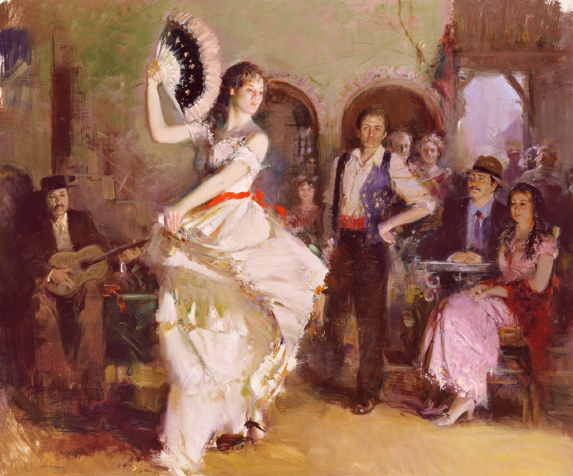 The Last Dance by Artist Pino Daeni Artwork