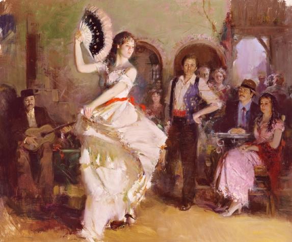 The Last Dance by Artist Pino Daeni Artwork
