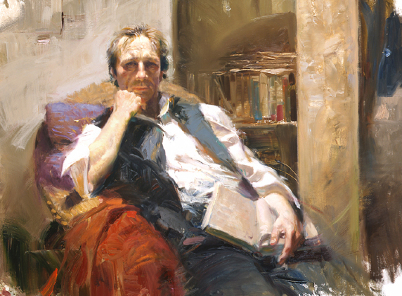 The Professor by Artist Pino Daeni Artwork