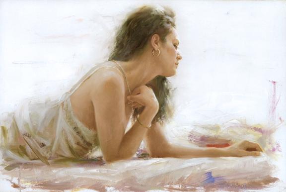 VIDAN ARTIST - Apres Midnight 20 x 30