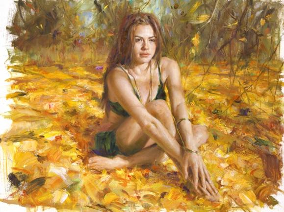 VIDAN ARTIST - In the Field 30 x 40