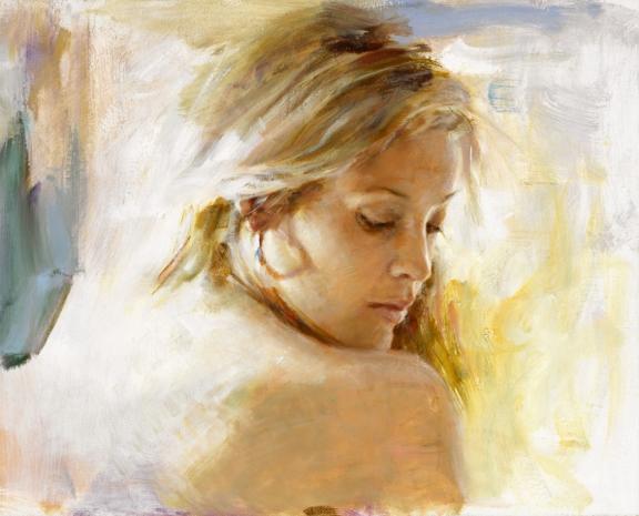 VIDAN ARTIST PINO DAENI - Warmth 16 x 20 Pino artist