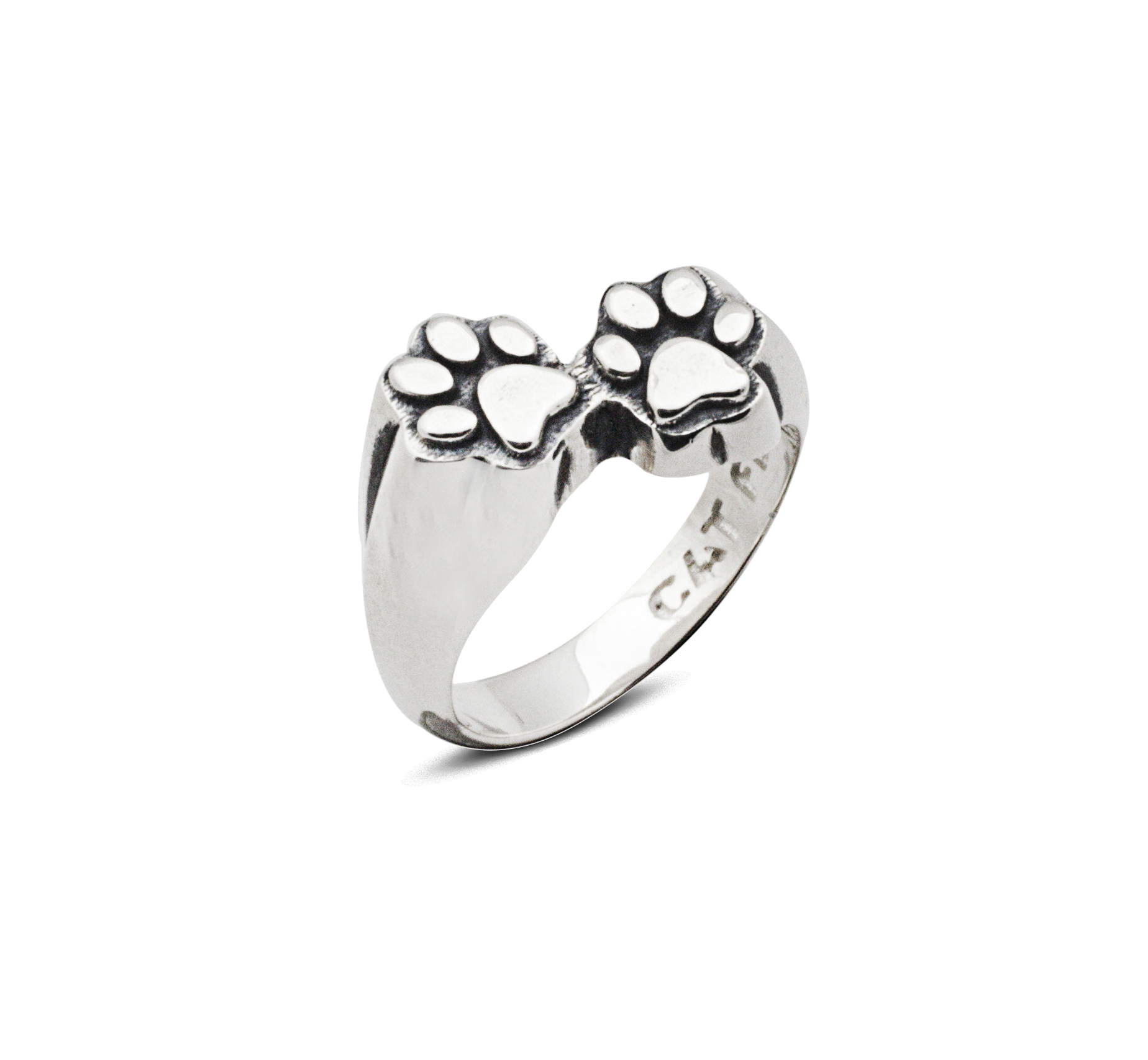 Cat Fever Jewelry Paw Print Ring