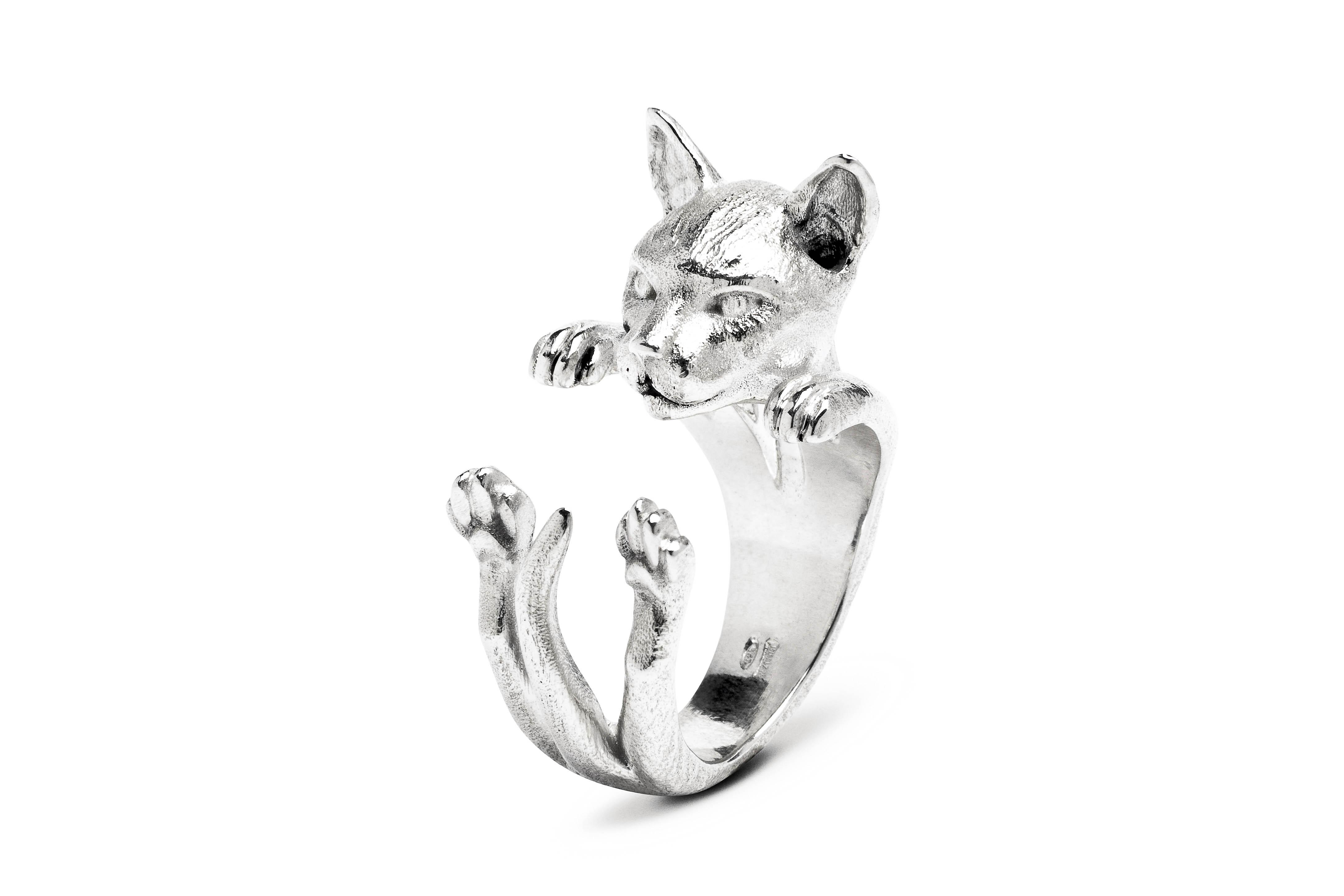 Siamese_Hug Ring_silver_DIAGONAL_HIGH