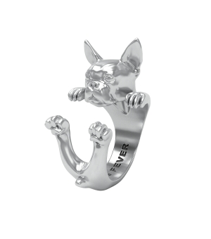 DOG-FEVER-HUG-RING-boston-terrier-silver-ring