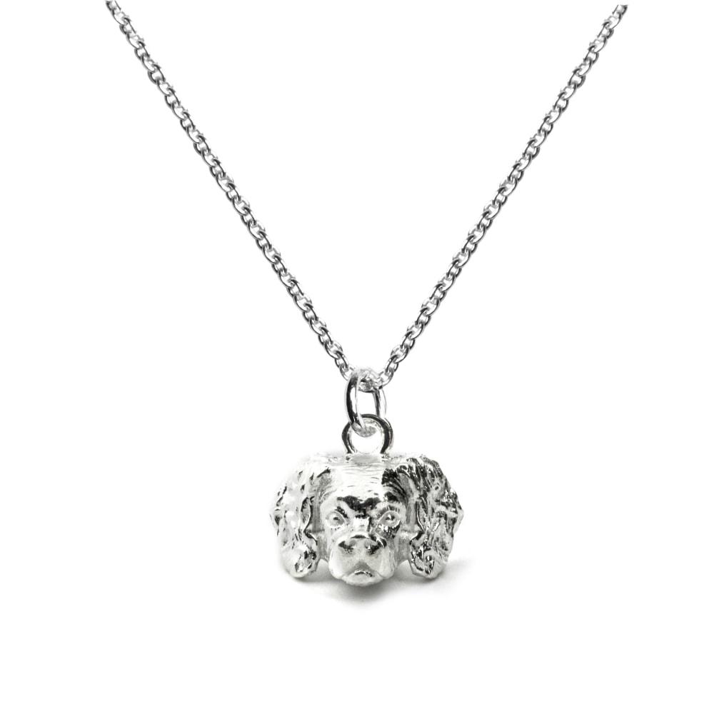 Cavalier_Head Pendant_silver_HIGHavalier silver