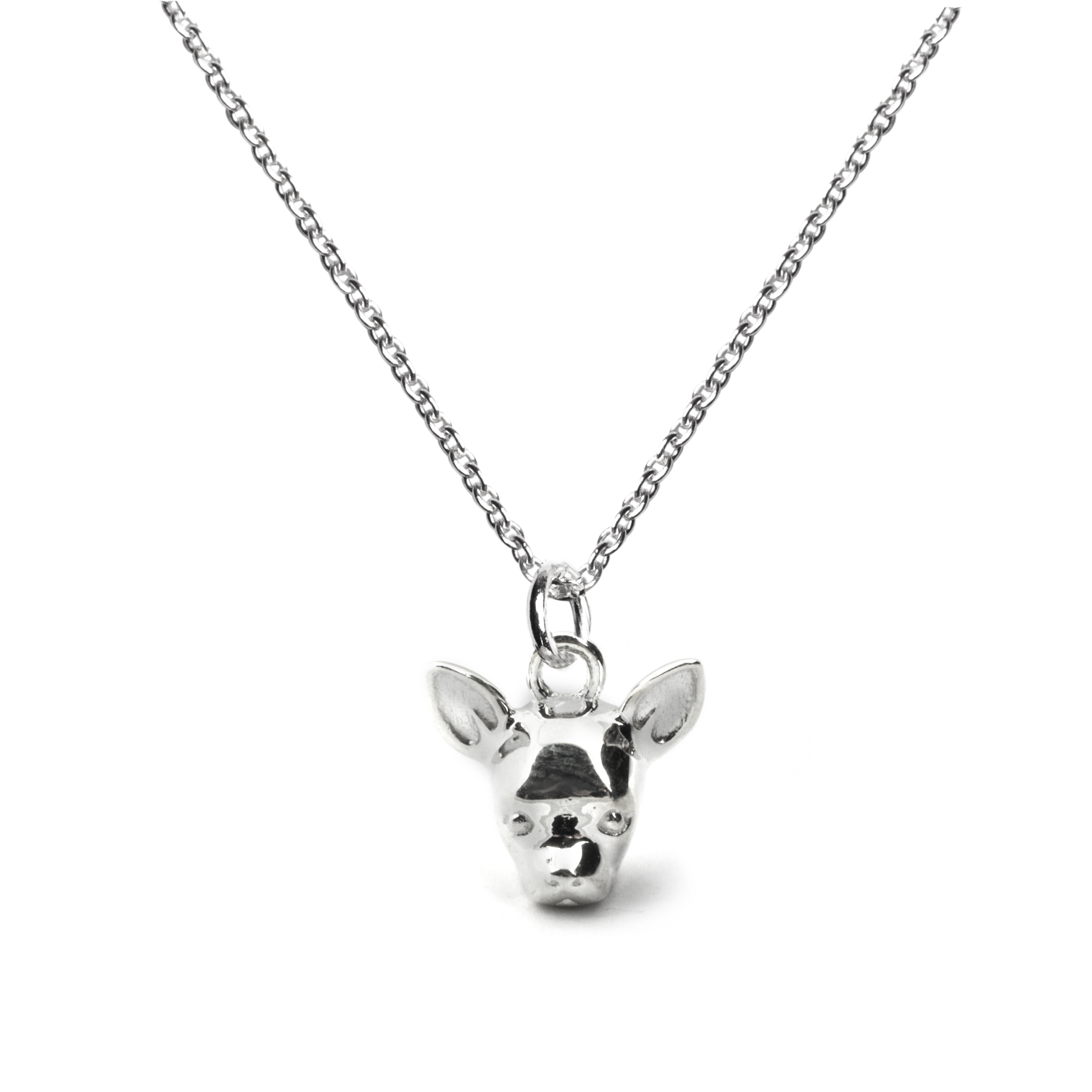 Chihuahua_Head Pendant_silver_HIGH
