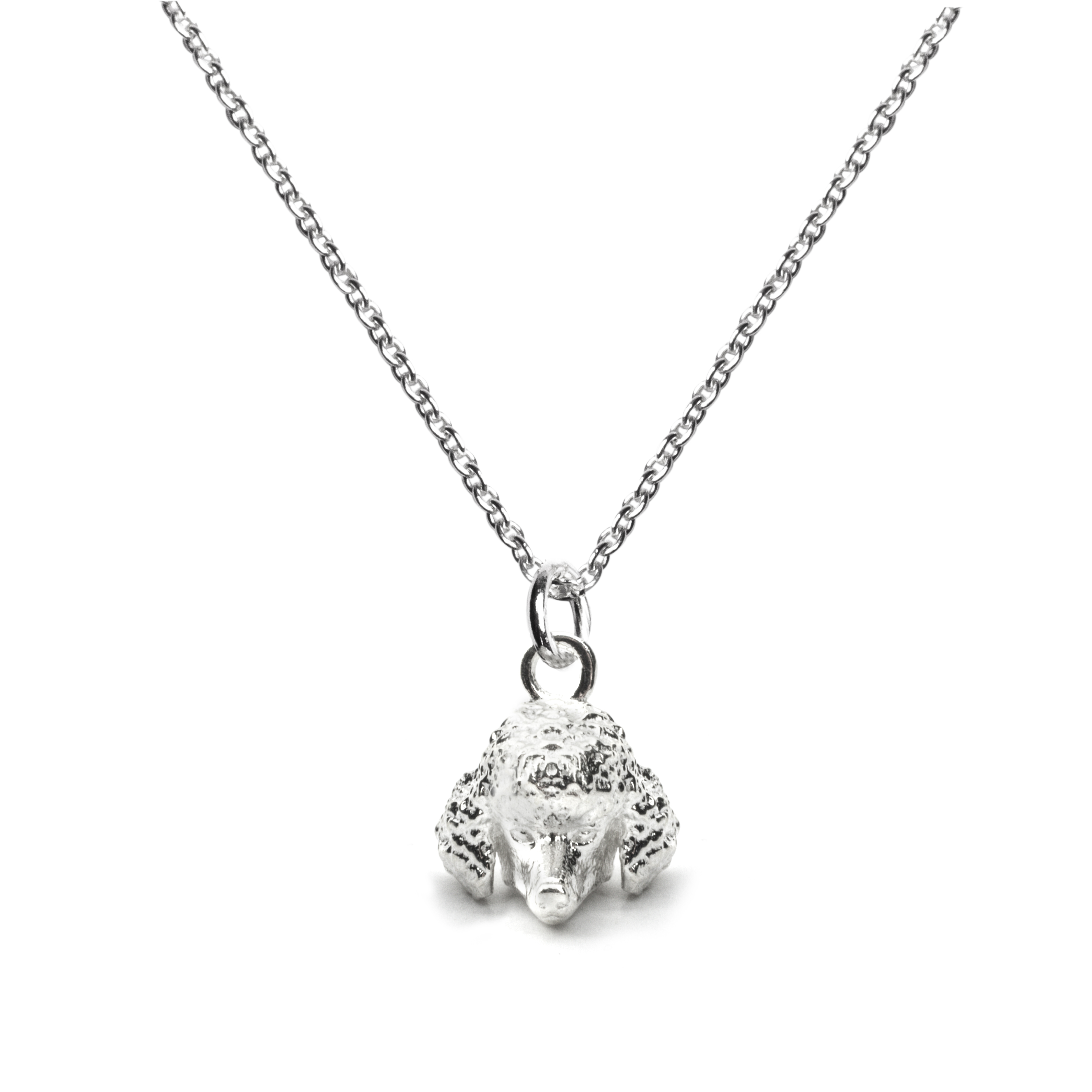 Poodle_Head Pendant_silver_HIGH
