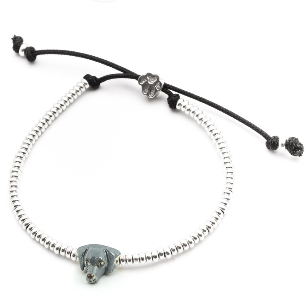 Weimaraner_Head Bracelet_enameled_HIGH
