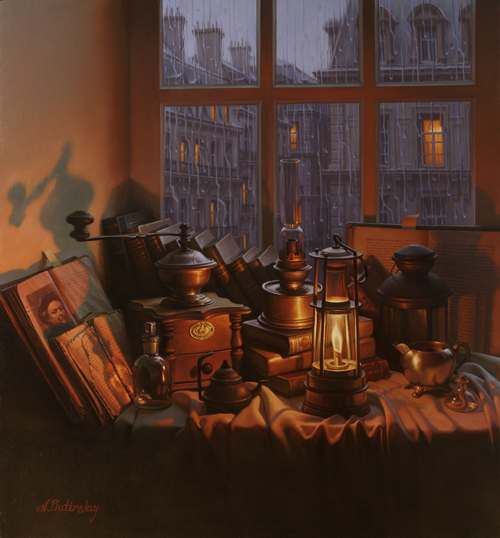 ALEXEI BUTIRSKIY ARTIST - Antiquities 25 x 23
