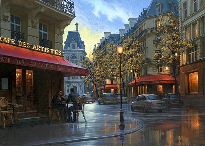 ALEXEI BUTIRSKIY ARTIST Autumn Serenade 20 x 23