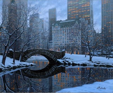 ALEXEI BUTIRSKIY ARTIST - Central Park - New York 28 x 34