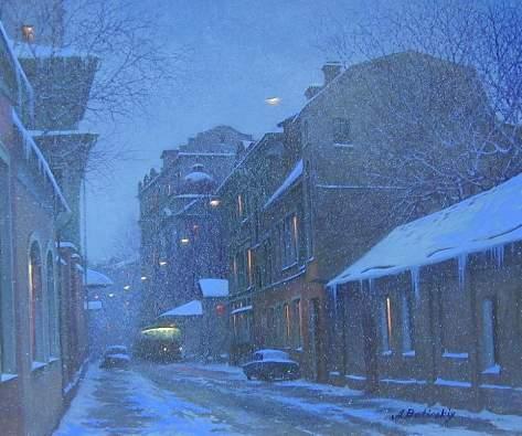 ALEXEI BUTIRSKIY ARTIST - Evening Flurries 20 x 24