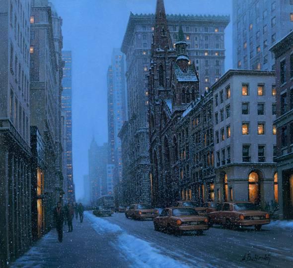 ALEXEI BUTIRSKIY ARTIST - Fifth Avenue 24 x 36