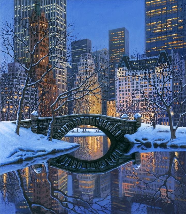 ALEXEI BUTIRSKIY ARTIST -New York New York 30 x 26