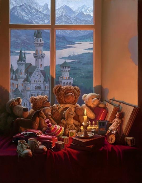ALEXEI BUTIRSKIY ARTIST - Through the Eyes of a Child 33 x 26