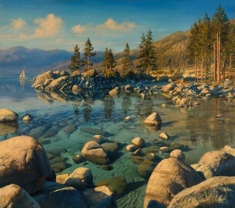 EVGENY LUSHPIN ARTIST - Tahoe Serenity