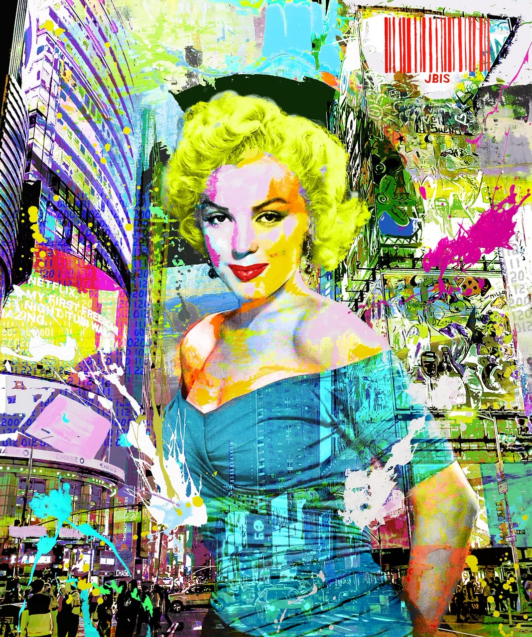 Blonde-inthecity-33x40-the-bisaillon-brothers (1)