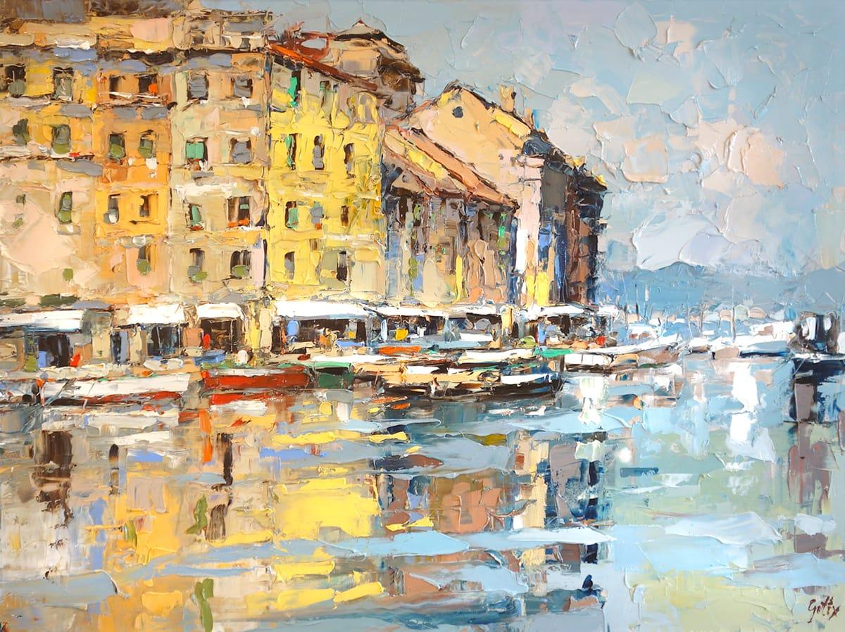 FRANK GETTY ARTIST - Portofino THE ART SHOP
